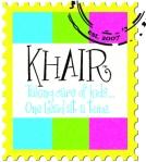 KHAIR_stamp Logo